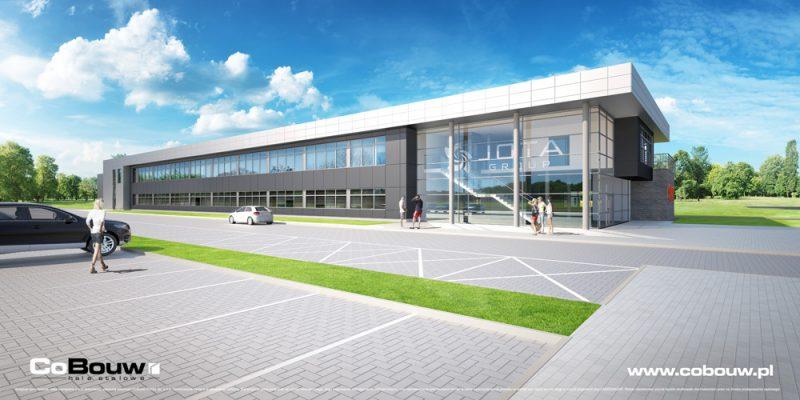 Nieuwbouw voor de firma JOTA GROUP sp.zo.o.