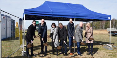 Start van de bouw voor Kentaur Production