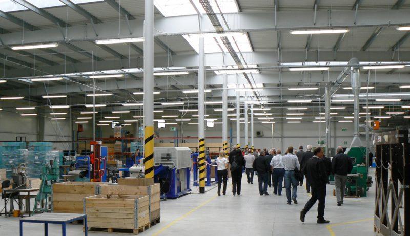 Officiele opening de nieuwe productiehal met magazijn van de firma HG POLAND Sp. z o.o.