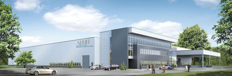 Bouw van een productiehal met magazijn voor de Nederlandse firma Addit sp.zo.o.