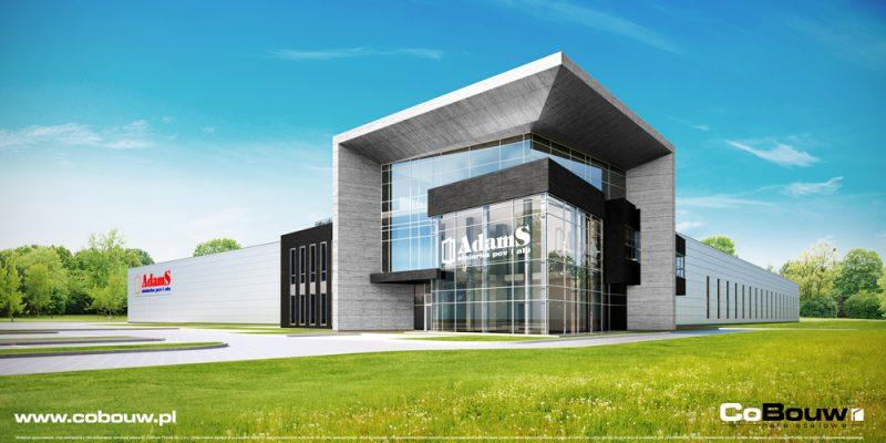 Realisatie van een productie- en opslaghal voor de firma ADAMS HENRYCK PĘDZICH in Mrągowie