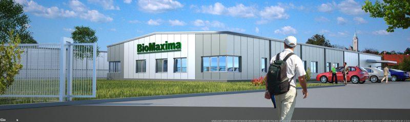 Bouw voor de firma BIOMAXIMA S.A.