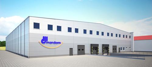 Bouw voor productiebedrijf MARDOM