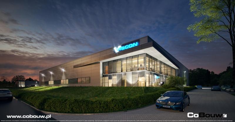 Bouw van een productie- en opslaghal voor Viscon Real Estate Poland
