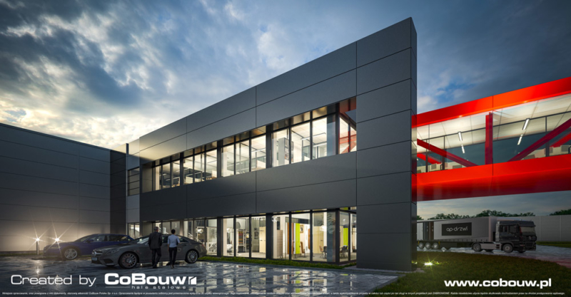 Ontwerp en bouw van een productie- en opslaghal voor Turenwerke Sp. z o.o.