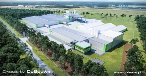 Uitbreiding van de fabriek voor minerale meststoffen van Liedmann