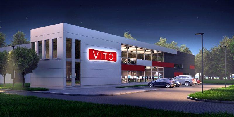 Bouw van een productie- en opslaghal voor Vito Polska Sp. z o.o.