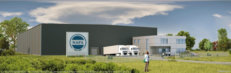 Nieuwbouw voor de Nederlandse firma NAFA POLSKA sp.zo.o.