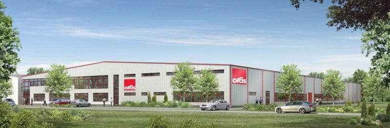 Bouw van een productiehal met kantoren en sociale ruimtes voor de Finse firma ORAS POLSKA sp.zo.o.