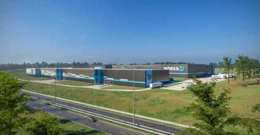 Uitbreiding van logistiek centrum van Indeka Logistic City