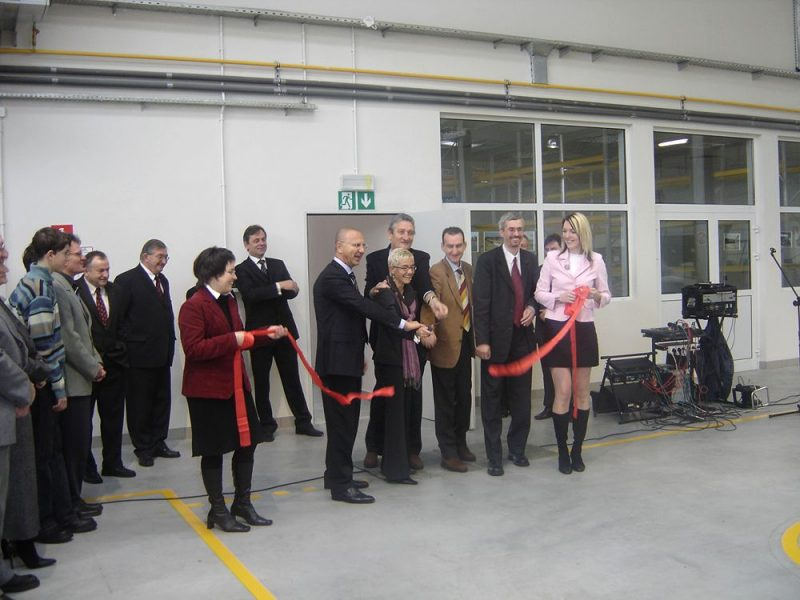 Officiele opening van de nieuwe vestiging van OML Morando Polska sp.zo.o. w Polsce