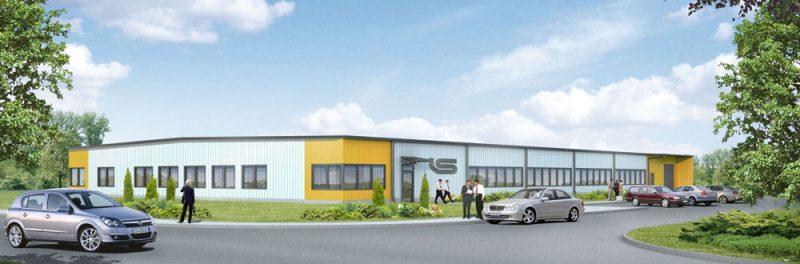 Bouw van een productiehal met kantoren en sociale ruimtes voor de Nederlandse firma JAN sp.zo.o.
