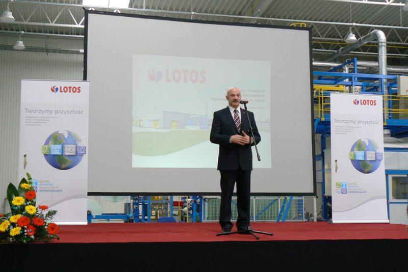 LOTOS ASFALT sp.zo.o. opent nieuwe fabriek in Jaśla